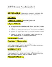 SIOP® Lesson Plan Template 2.doc