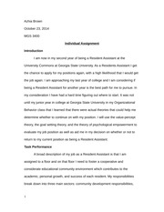 Brown- Individual Assignment