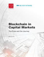 BlockChain-In-Capital-Markets