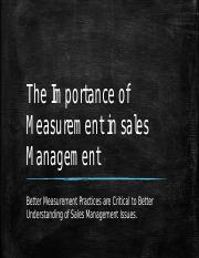 The Importance of Measurement in Sales Management.pptx
