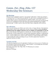 157 STEM_PLTWSite Seminars_Wed Fa 13