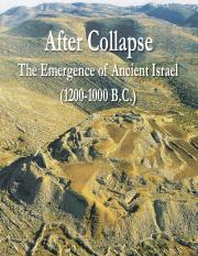 14 Emergence of Ancient Israel.pdf