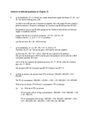 Answers to selected questions in Chapter 21