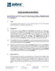 2016 Template_Executive Search Service Agreement (Cosetia).doc