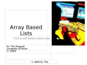 05_ArrayBasedLists