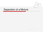 Lab 03 (-) - Separation of a Mixture (STUDENT)