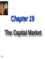 Chapter-19-The-Capital-Market.ppt