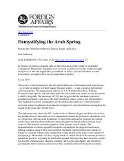 Anderson_Demystifying-the-Arab-Spring