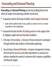 02_Forecasting_and_Demand_Planning