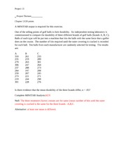 Math 246 Project 13 Sample KEY