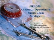 Class 3 - Strategy - Chapter 2