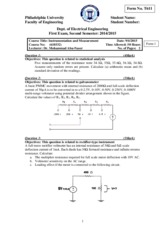 measurement second semester 2015 exam1