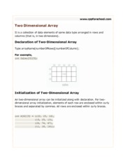 chapter13-two-dimensional-array