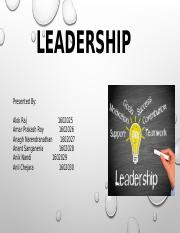 Group 5_Leadership