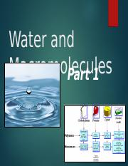 Ch 2 water and molecules NOTES.ppt