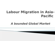 Week 9 Labour migration in Asia Pacific Student