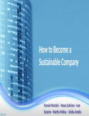 green business - sustainable company.ppt