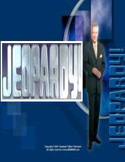 Jeopardy Game Exam 4.ppt
