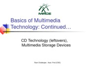 3-CD and Multimedia Storage