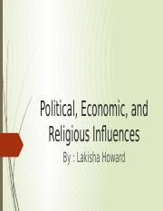 Political, Economic, and Religious Influences.pptx