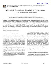 16-A Realistic Model and -Ghassan.pdf