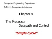 CC311_LECTURE NOTES_2013_1__1_1_Single_Cycle