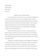 Research Paper GRST 500-B07 Marvin Williams Jr Revised .docx
