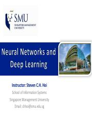 6_NNets & Deep Learning