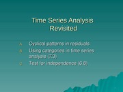 Time series revisted F14(1)