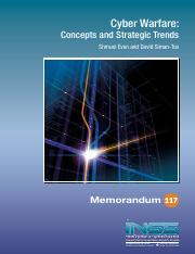 2. Cyber Warfare Concepts and Trends 2012