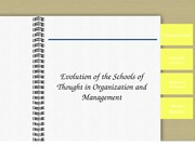 schoolofthoughtmanagement-111118070752-phpapp01