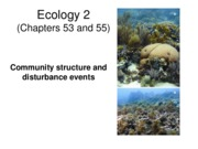 Lecture 27 Ecology 2 revised