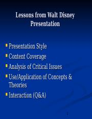 4-Lessons from Walt Disney Presentation.ppt