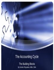 chapter 2 - The Accounting Cycle