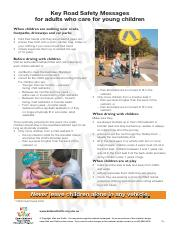 Key Road Safety Messages Kids and Traffic.pdf