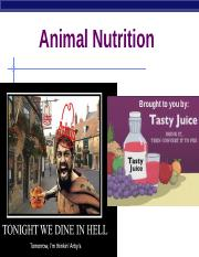 U1 - Ch 41 - Animal Nutrition.ppt