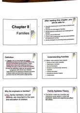 Families Powerpoints