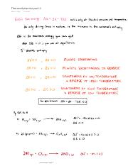 Thermodynamics part II