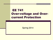 EE 741 System Protection Review