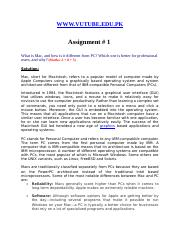 Introduction to Computing - CS101 Spring 2008 Assignment 01 Solution.doc