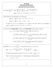 Math104ExamPackageSolutionsDec2014