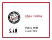 CEH v5 Module 18 Linux Hacking