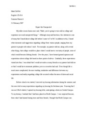 Comparison and Contrast Essay - Final Draft