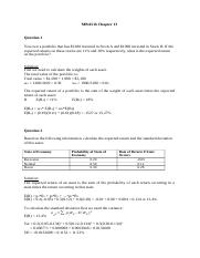 MBA516 Chapter 13 tutorial solutions.docx