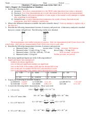 Review  Final Part 1 2014- 15 Chapter 1 to 3  -- ANSWERS
