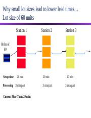 Lot Size Effect on Flow Time.ppt