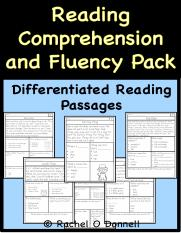 FreeReadingComprehensionandFluencyPackPreview