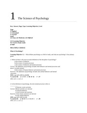 Ciccarelli--Psychology 3e