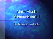 Math Measure I