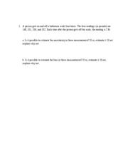 Sample problems a